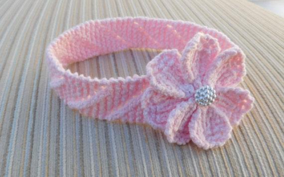 Instant Download 219 Knitting Pattern Baby Headband Etsy