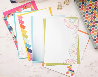 Series 2: Open this When Letter Writing Kit with Printed Envelopes