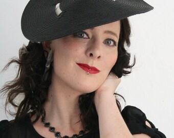 Sun Hat - Tie on Straw Travel hat - summer hat - wide brimmed hat