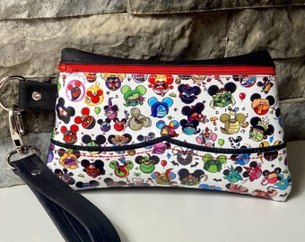 Classic Characters Cork and Vinyl Clutch