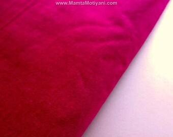 Hollywood Kirschrot Kunst Seide Silk Gewebe Durch Yard, Schockierend Heißen  Rosa Home Decor Stoff, Himbeer Rote Dupionseide Gewebe, Magenta Indischen  Stoff