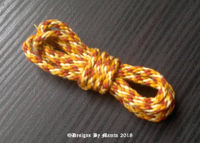 Colorful Braided Cord Macrame Cord Bead Cord Textile Rope Rope Ferocious Tiger Braided Cord 3mm Braid Cord Rustic Cording Knot Cord
