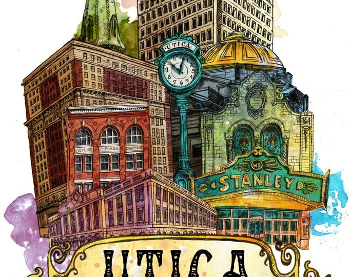 Featured listing image: Utica New York, Utica NY, Stanley Theater, FX Matt Brewery, Utica Club, Utica Art