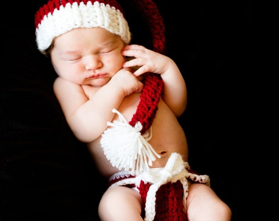 Baby Santa Costume, Baby Santa Outfit, Baby Santa Hat, Baby Santa Outfit Boy, Baby Santa Outfit Girl, Christmas Diaper Cover