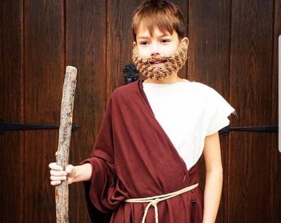 Nativity Costumes, Nativity Costumes for Kids, Nativity Costumes for Children, Nativity Costumes for Adults, Fake Beard