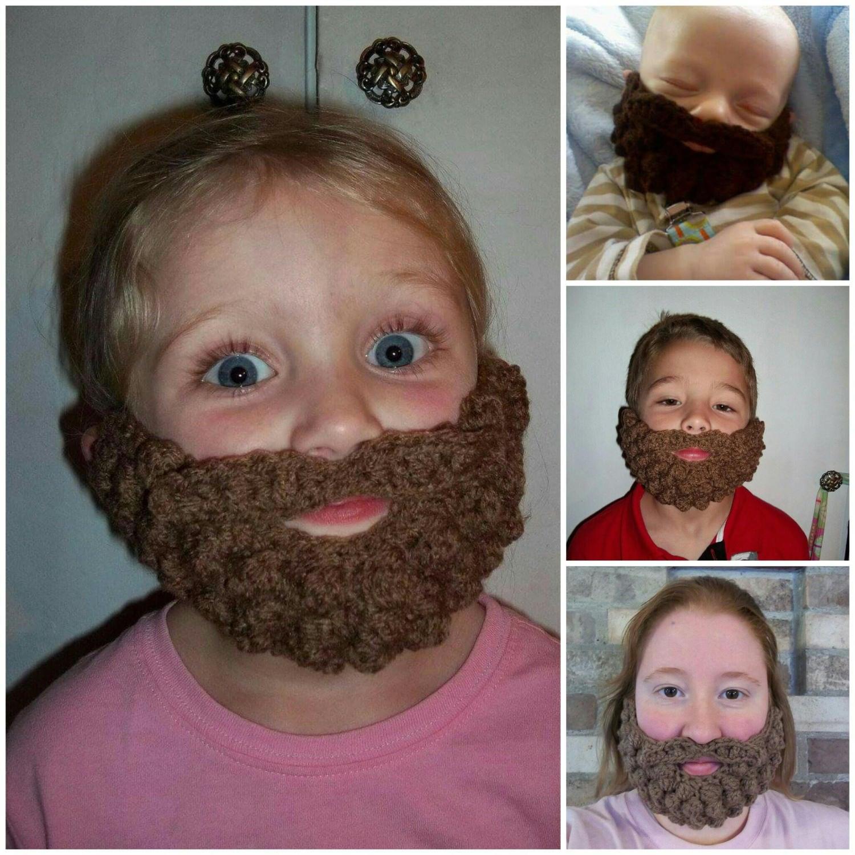 Baby Boy Lumberjack Crochet Pattern, Mens Cosplay Beard Pattern ...