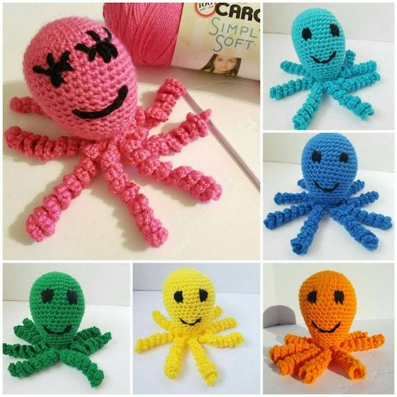 Preemie Octopus Comfort Toy, NICU Baby Gift, NICU Baby Octopus, Octopus Baby Toy,  Preemie Octopus Baby Gift, Preemie Octopus Lovie