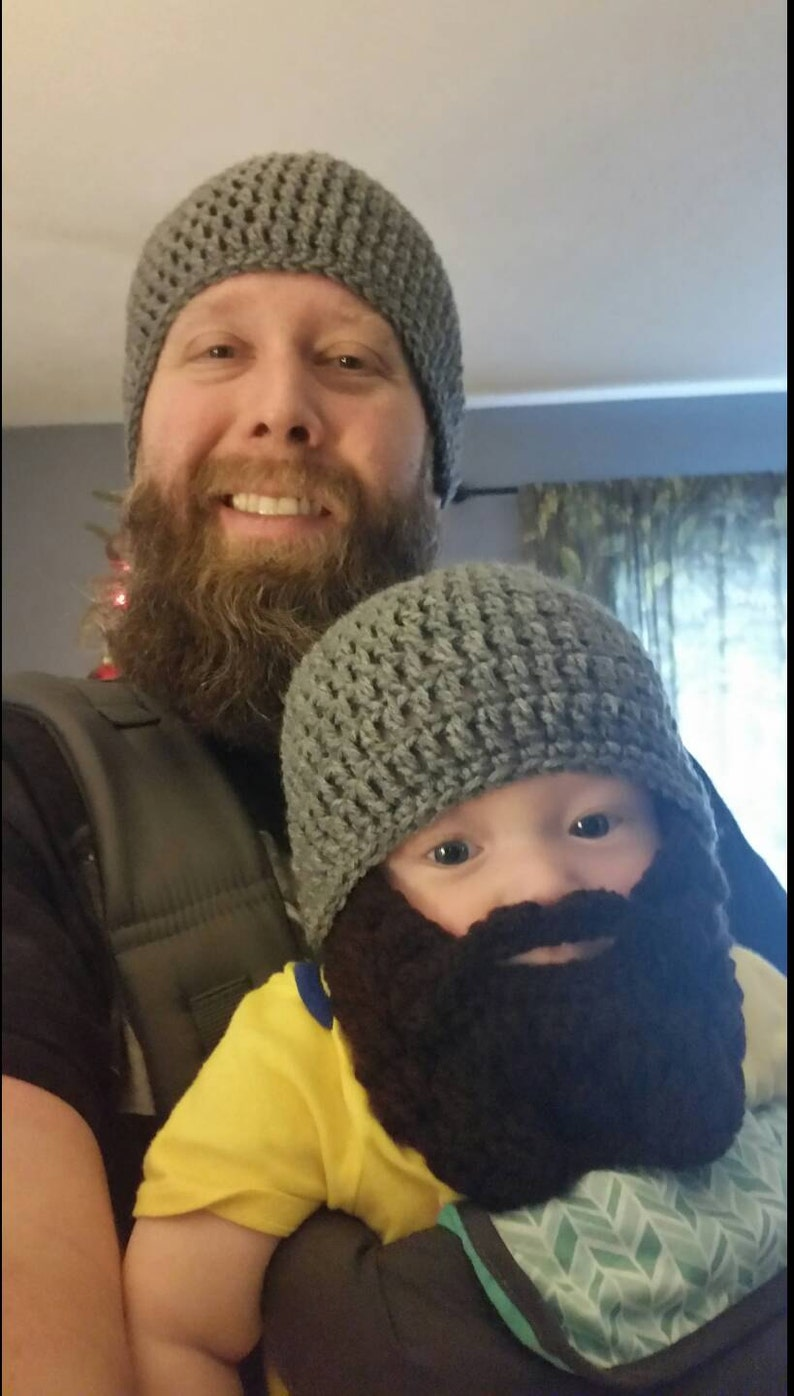 6d6d4a2bdca Father Son Matching Outfit Bearded Dad Gifts Father Son