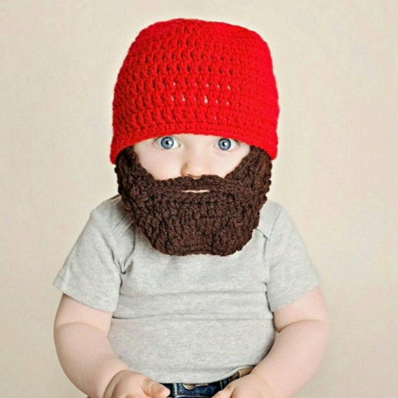 Lumberjack First Birthday, Lumberjack Nursery, Lumberjack Baby Shower, Wild One First Birthday, Baby Bear, Baby Beard Beanie Hat