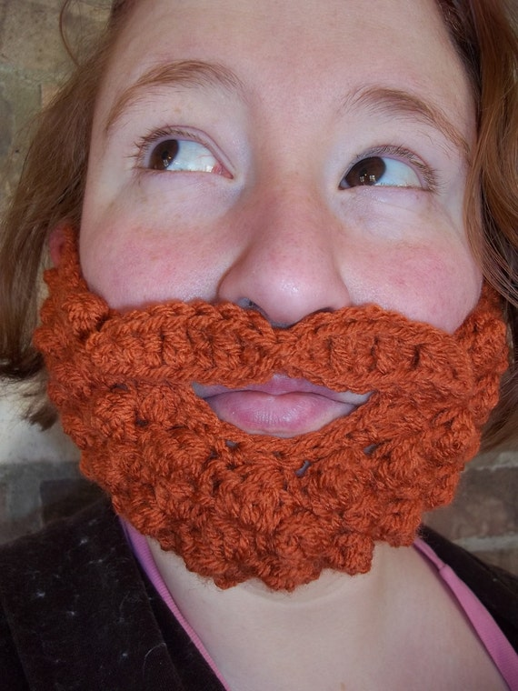 Fake Beard, Costume Beard, Baby Beard, Cosplay Beard, Child Kid Beard, Adult Beard, Halloween Beard, Lumberjack Costume, Crochet, Knit Beard