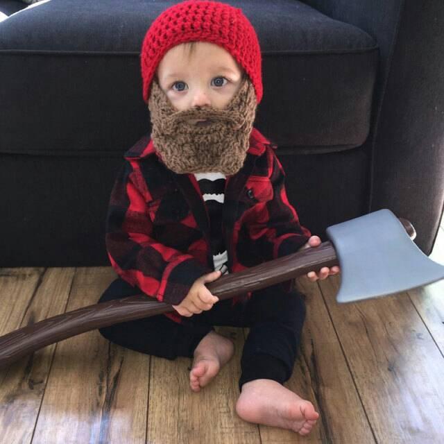 15d627d033f Baby Beard Beanie