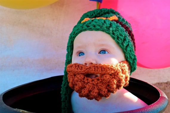 Baby's First St. Patrick's Day, Leprechaun Costume Baby, Leprechaun Hat Baby, Leprechaun Costume Toddler, Ginger Beard