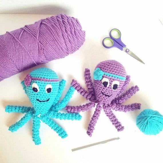 Preemie Octopus Comfort Toy, Preemie Octopus Lovie, Preemie Octopus Stuffed Toy, Octopus Baby Toy,  Preemie Octopus Baby Gift