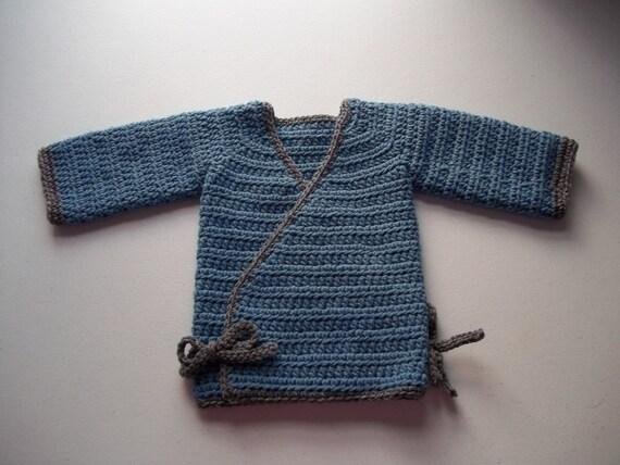 Baby Boy Kimono Crochet Pattern, Boys Kimono Crochet Pattern, Crochet Kimono Pattern, Toddler Kimono Crochet Pattern, Newborn Kimono Crochet
