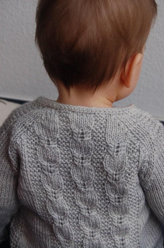 f80c44ea0 Silverfox Cardigan PDF knitting pattern   fiche tricot gilet a