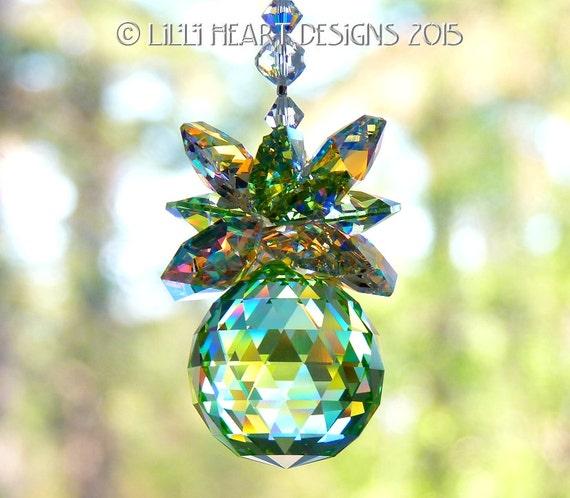 Angel HEART Bell gioco palla di vetro Giardino Decorazione Ornamento Argento Placcato