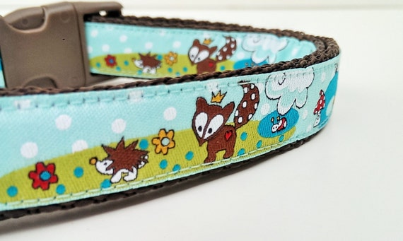 Little Fox Prince - Dog Collar / Adjustable / Handmade / Pet Accessories