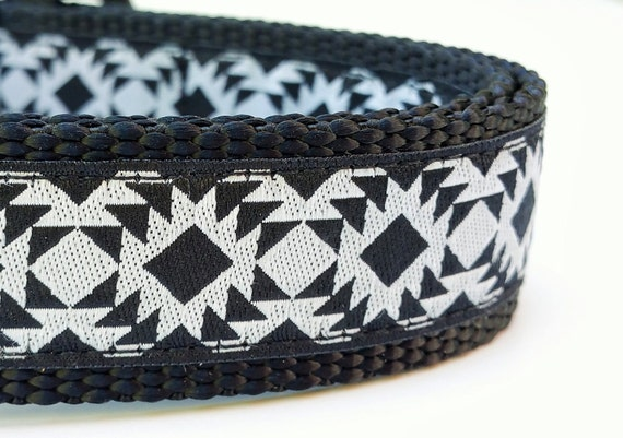 Modern Geometric - Dog Collar / Handmade / Adjustable / Pet Accessories / Pet Lover / Gift Idea