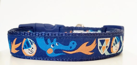 The Noble Beast - Dog Collar / Pet Accessories / Handmade / Adjustable