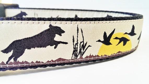 Bird Dog - Dog Collar LIMITED EDITION / Retriever / Pet Accessories / Handmade / Supplies / Adjustable