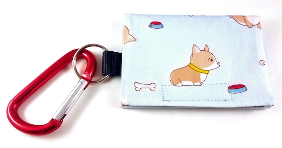 Bag Buddy / Dog Poop Bag Holder / Pet Mess / Dog Poop / Poop Bag Pouch / Leash Bag / Dog Waste / Waste Bag Holder / Corgi / Bunny Butt