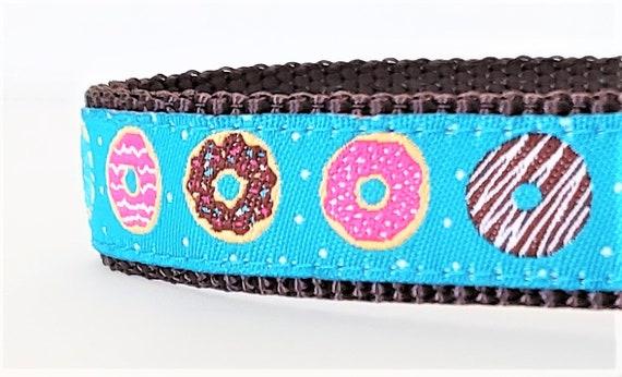Tiny Donuts - Dog Collar / Adjustable / Dog Collar / Donuts / Teacup / Nom Nom Nom / Donut Dog Collar / Pet Collar