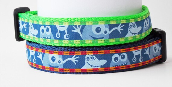 Wackadoodle - Dog Collar / Handmade / Pet Accessories / Adjustable