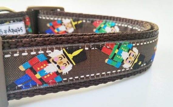 The Nutcracker - Dog Collar / Handmade / Pet Accessories / Adjustable / Gift Idea / Pet Lover