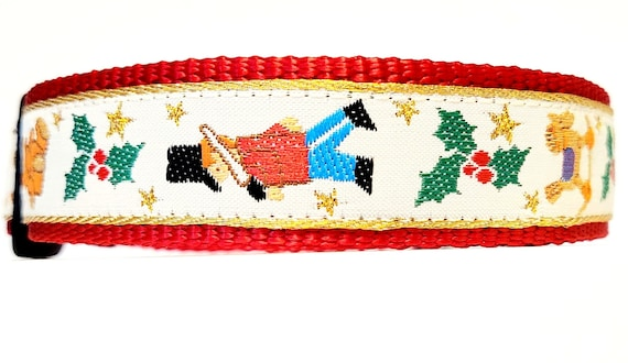 Wish List - Dog Collar / Christmas / Toys / Santa / Dog Collars / Large Dog Collar / Christmas Dog Collar / Adjustable / toy soldier / Gifts