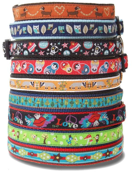 LUCKY PUP DEAL / Dog Collar / Pet Accessories / Handmade / Adjustable