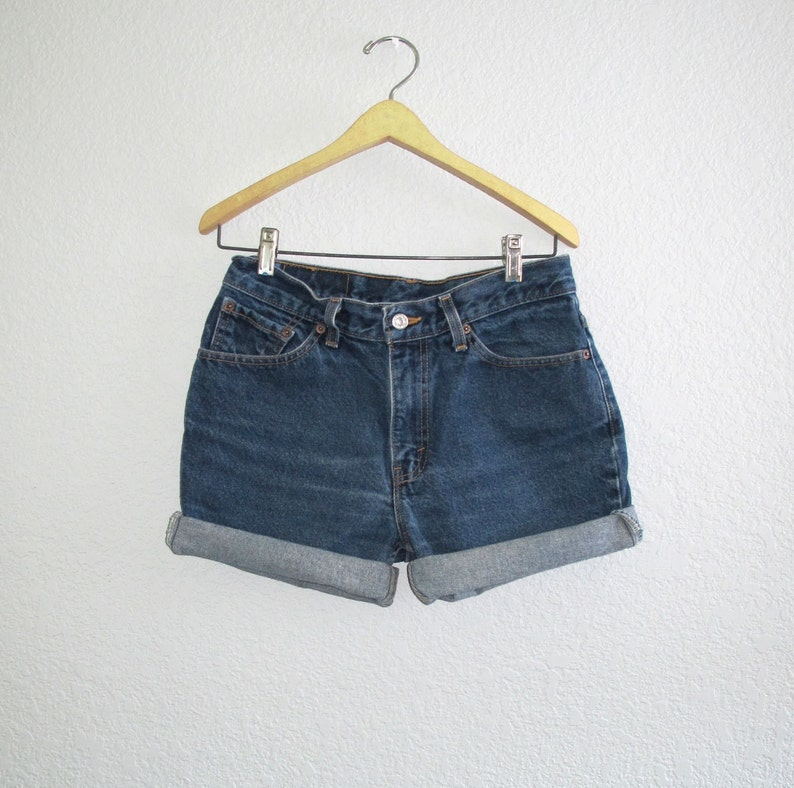 637c3b727a Vintage Levi s 517 Slim Fit Shorts Levis USA Blue Denim W