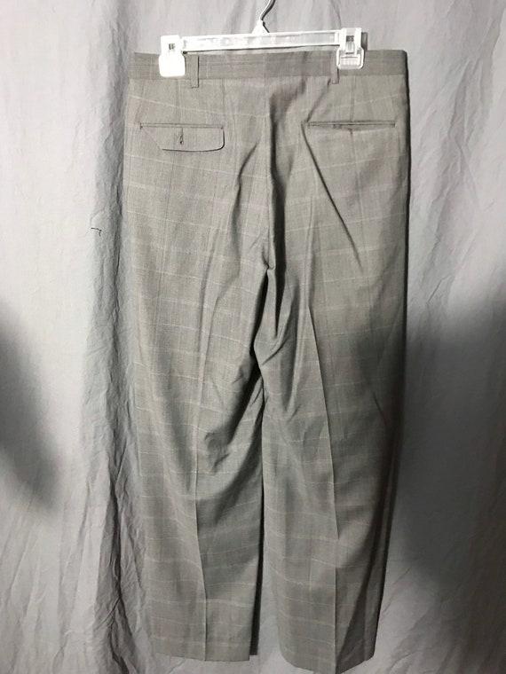 Vintage 1980's Pierre Cardin plaid pants 33 - image 4