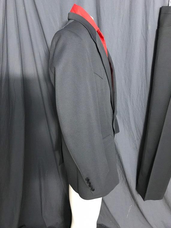 Vintage Farah 1970's gray western suit 44 R - image 5