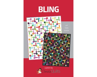 Bling Digital Quilt Pattern by Christa Watson of ChristaQuilts