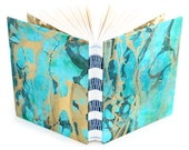 Marbled Journal blue/gree...