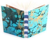 Marbled Journal turquoise...
