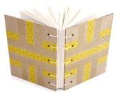 Yellow Striped Journal wi...