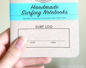 Surf Gift, SURF LOG, Gift for a Surfer, record your daily surf sessions, Surf Tracking Notebooks, Notebook for Surfers, Set of 3