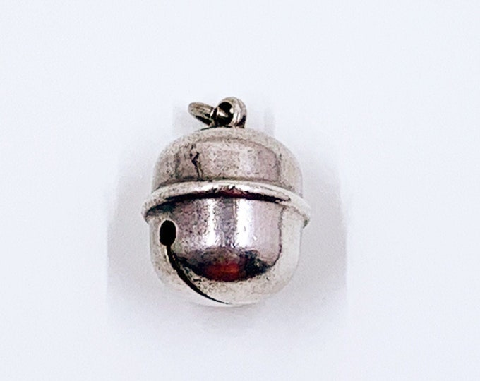 Vintage Silver Jingle Bell Charm