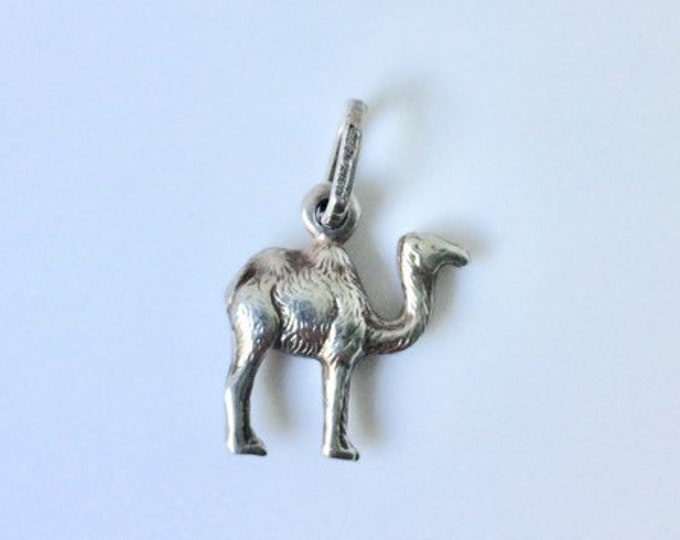 Vintage Silver Camel Charm