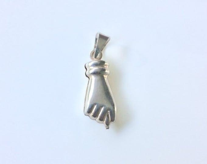 Vintage Silver Figa Charm | Protection Amulet | Talisman