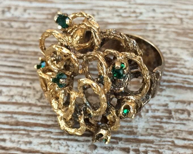 Vintage ESPO Modernist Ring | Size 6