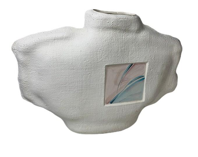 Vintage Slava Pottery Vase |  Drape Form Pottery