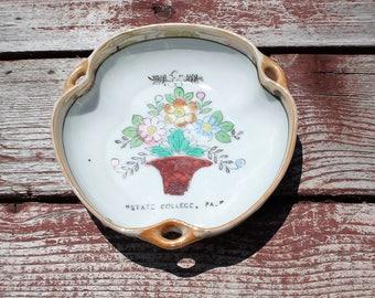 Vintage Lustreware Souvenir Bowl, State College, PA