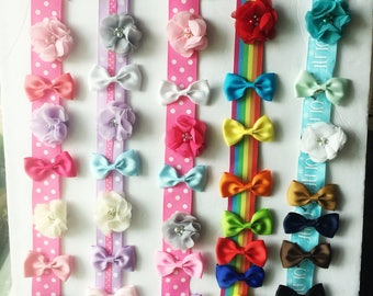 Hair Bow Holder, Hair Clip Holder, Girls hair bow hanger, Girls stocking stuffers, Gifts for little girls, Christmas gifts for girls,