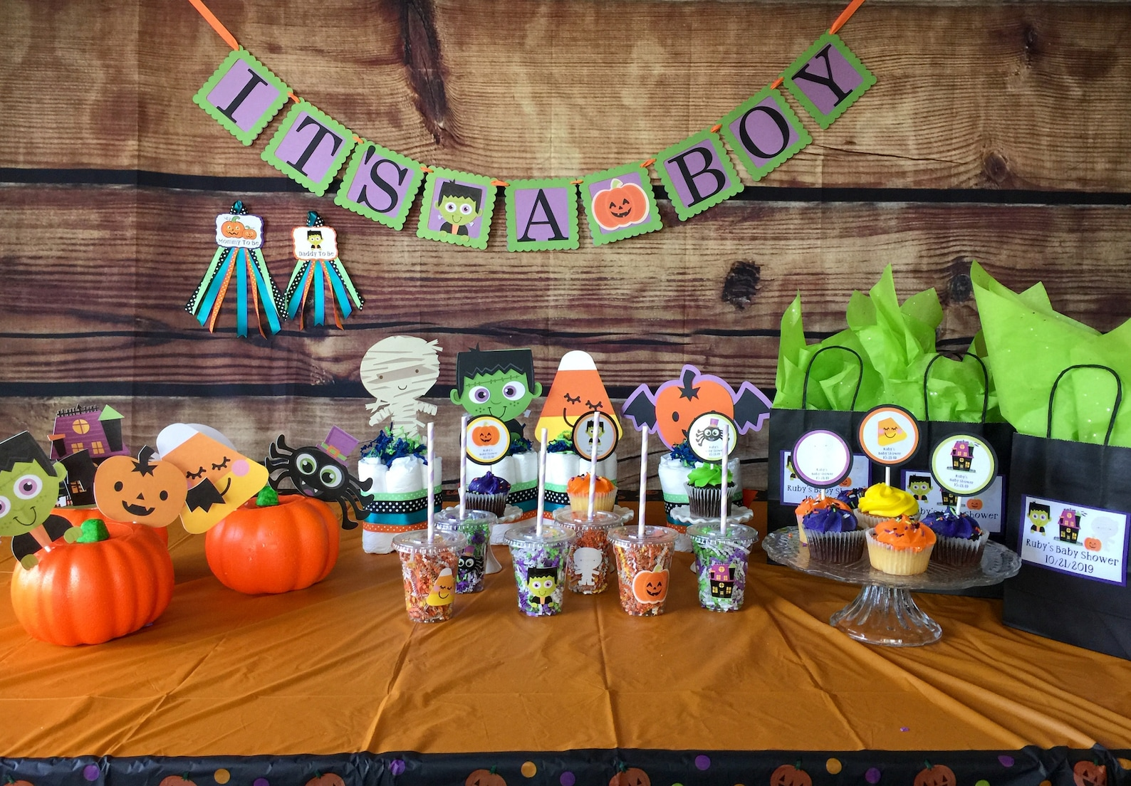 Spooky Meets Cute at My Party Style with the New Halloween Baby Shower Theme Available Now