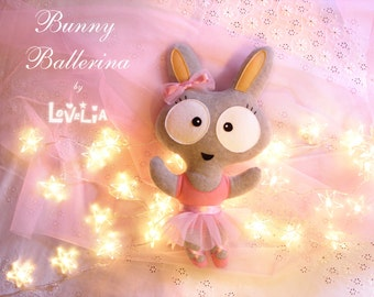 Bunny Ballerina, Tadi -Cuddly Toy-