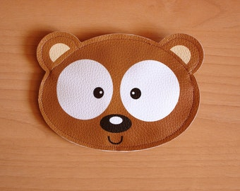 Nebu the Brown Bear -Purse-