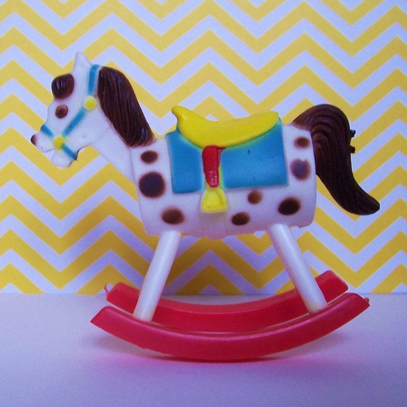 Rocking Horse Cake Topper Wilton 1978
