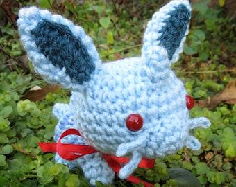 READY TO SHIP - Chibi Pokemon Amigurumi - Nidoran F. Nidoran Female. Pokemon Plush. Nintendo. Cosplay. Anime. Gaming Crochet. Gamer Gift.